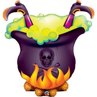 Folienballon Halloween Oopsie Witchs Brew!