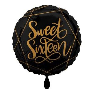 Folienballon Birthday Elegant Sixteen