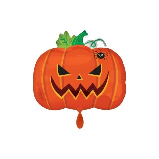 Folienballon Halloween Frightful Pumpkin