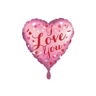 Folienballon Satin Love You