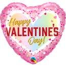 Folienballon HVD Valentines Confetti Ombre