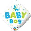 Folienballon Boy Dots and Dragonfly