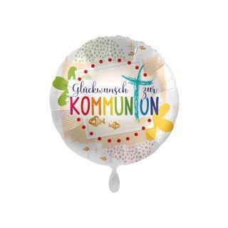 Folienballon Glückwunsch zur Kommunion