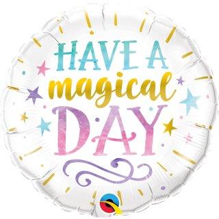 Folienballon Birthday Have a Magical Day
