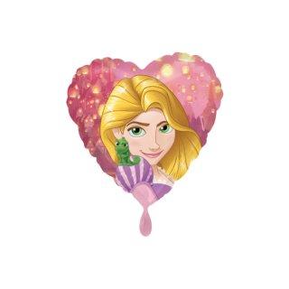 Folienballon Rapunzel Herz