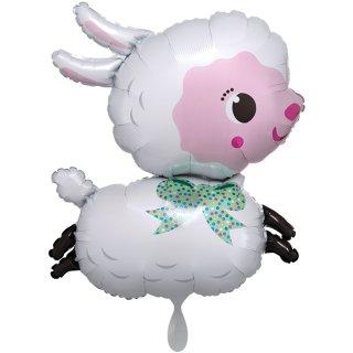 Folienballon Lamby groß