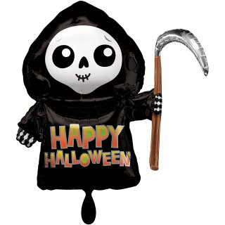 Folienballon Happy Grim Reaper groß
