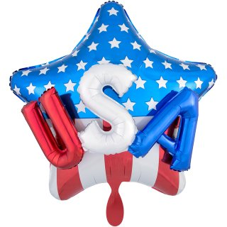 Folienballon USA on Stars & Stripes groß