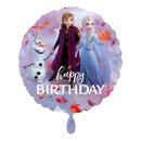 Folienballon Frozen 2 Happy Birthday