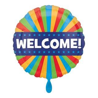 Folienballon Welcome Blitz