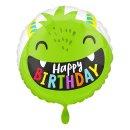 Folienballon Birthday Happy Little Monsters