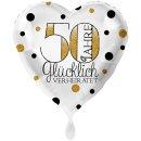 Folienballon 50 Jahre Glücklich Verheiratet groß