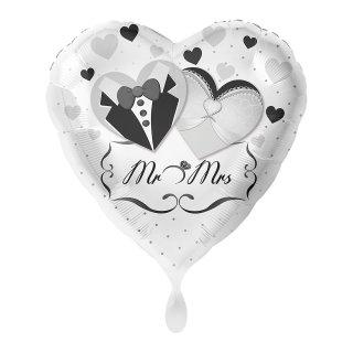 Folienballon Mr. & Mrs. Brautpaar
