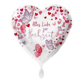 Folienballon Hochzeit Alles Liebe