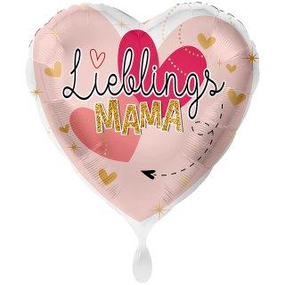 Folienballon Lieblingsmama groß