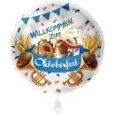 Folienballon Willkommen zum Oktoberfest groß