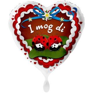 Folienballon I mog Di Marienkäfer