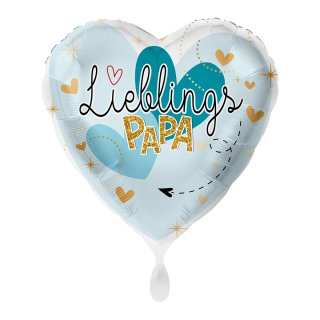Folienballon Lieblingspapa