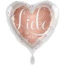 Folienballon Alles Liebe zur Hochzeit groß
