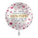 Folienballon 100% Mama