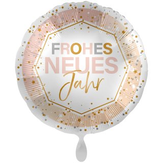 Folienballon Frohes neues Jahr Shine groß