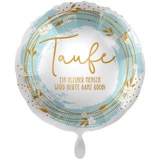 Folienballon Taufe Boho groß