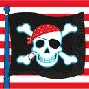*R* Servietten Pirate Party