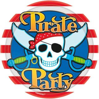 *R* Pappteller Pirate Party