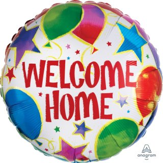 Folienballon Welcome Home Celebration