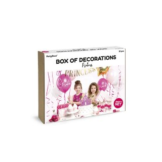 Dekorationsset Prinzessin
