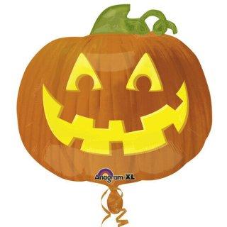 Folienballon Halloween Jacko Lantern Pumpkin*