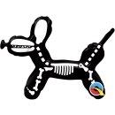 Folienballon Balloon Dog Skeleton nur Luftfüllung