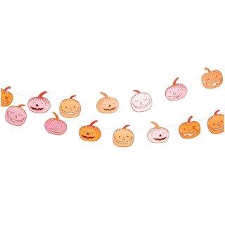 Girlande Halloween Kürbis