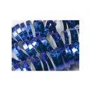 Luftschlangen blau holographic