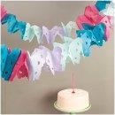 Papiergirlande Schmetterling