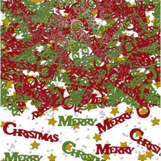 Konfetti Weihnachten Merry Christmas