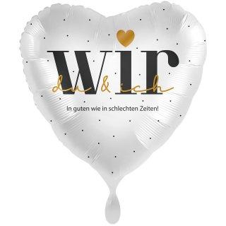 Folienballon WIR Promise groß
