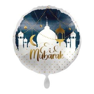 Folienballon Eid Mubarak Skyline