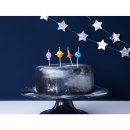 Kuchenkerzen Happy Birthday Space
