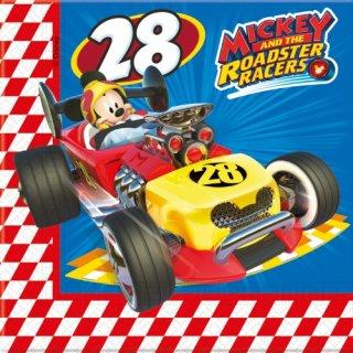 Servietten Mckey Roadster Racers
