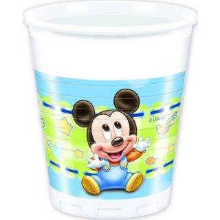 Plastikbecher Baby Mickey