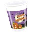Plastikbecher Happy Spooky Halloween