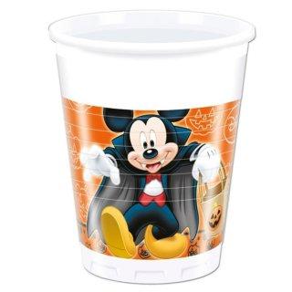 Plastikbecher Halloween Mickey Maus