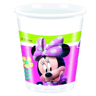 Plastikbecher Minnie Happy Helpers