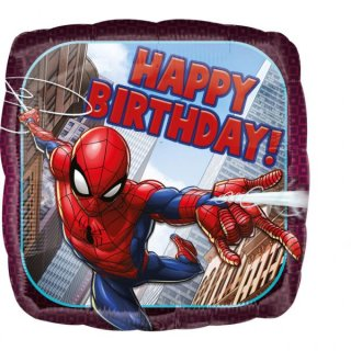 Folienballon Spider-Man Birthday