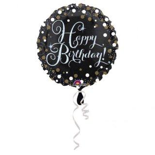 Folienballon Sparkling Birthday