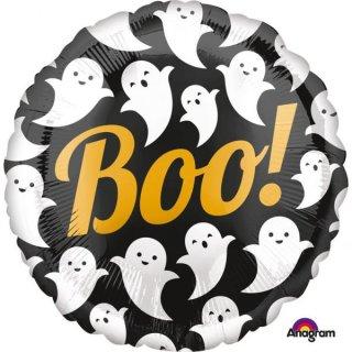 Folienballon Halloween Boo! Geister