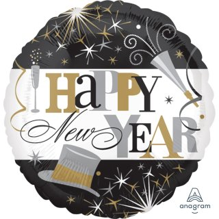 Folienballon Elegant Celebration Happy New Year*