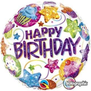 Folienballon* Birthday Dazzling Sweets