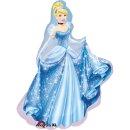 Folienballon Cinderella groß